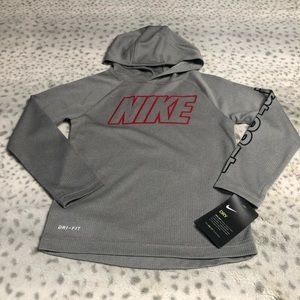 Nike Dro-Fit Pullover Hoodie Waffle Knit